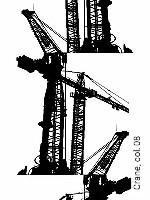 Tapeten  - Kräne Crane,  08