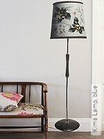 Tapete: Kims Lamp, blue