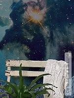 Tapete  - Landschaft De la Terre a la Lune