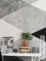 Tapete  - Rauten Geometric Marble