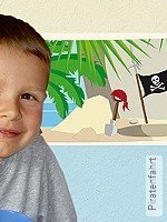 Tapete: Piratenfahrt