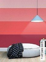 Tapeten  - Streifen - rot h.stripes 5