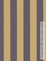 Tapete: Anakreon Stripes, brown gold