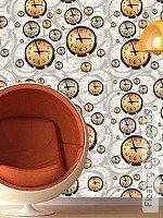 Tapete  - Uhren Floating Clocks, 09