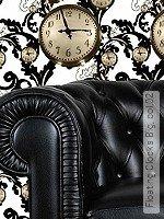 Tapete  - Uhren Floating Clocks Big, 02