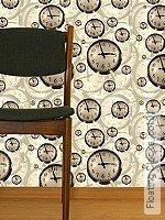 Tapete  - Uhren Floating Clocks, 01