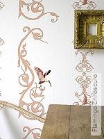 Tapete: Flamingo Chiroscuro