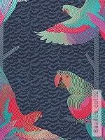 Tapete  - Vögel Basilius, 02
