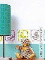 Tapete: Ziffer - Zahlenbordüre 0-9