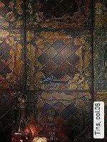 Tapeten  - Moderne Muster - Bronze Tins, 08