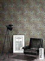 Tapete  - Moderne Muster - Bronze Amadeus, 04