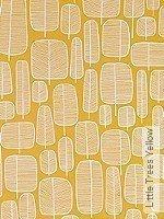 Tapete  - Gelb Little Trees, 06