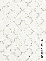 Tapete  - Klassische Muster - Grau Despina, 06