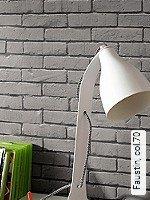 Tapeten  - Grau - Moderne Muster Faustin, 70