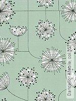 Tapete  - Hellgrün Dandelion Mobile, 05