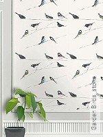 Tapete: Garden Birds, stone