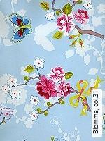 Tapete  - Ocker Blomma, 31
