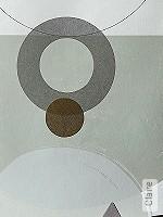 Tapete  - Grafische Tapeten - Rosa Claire