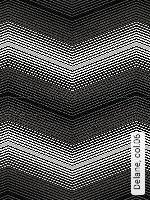 Tapete  - Retro Muster - Schwarz Delane, 06