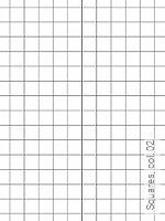 Tapete  - Grafische Tapeten - Schwarz Squares,  02