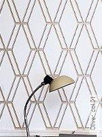 Tapete  - Grafische Tapeten - Silber Oliver, 01