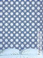 Tapete: Palladian Loop, blue