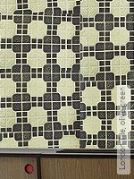 Tapete: London Tile, olive green