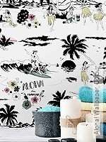 Tapete: Aloha! Wallpaper, Colour