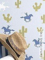 Tapete: Cactus Cowboy, Grey