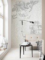 Tapete: Baroque, Grey