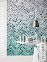Tapete: Herringbone, Mint