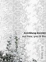 Tapete: Meta, grey