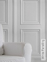 Tapete: White Panelling