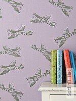Tapete: Spitfires, lilac