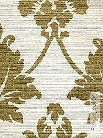 Tapete  - Bedruckte Sisalfasern auf Papier kaschiert Pirmin, 04