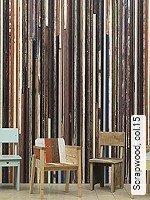 Tapete  - Papiertapeten Scrapwood, 15