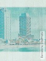 Tapete  - Beton Barcelona, Großmotiv