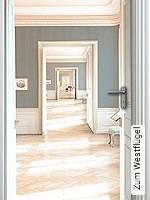 Tapete  - Digitaldruck Zum Westflügel