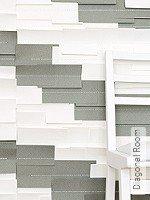 Tapete  - Handarbeit Diagonal Room