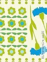 Tapete: Blumenbordüre, col.03