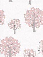 Tapete  - Bäume Dotty, rose