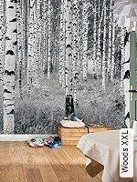 Tapeten  - Florale Muster Woods XXL