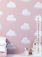 Tapete: Cotton Clouds, sandalwood pink