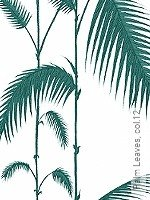 Tapete  - Vintage Tapeten Palm Leaves, 12