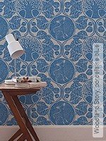 Tapete: Woodland Story, porcelaine blue