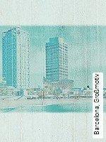 Tapeten  - Loft-Tapeten Barcelona, Großmotiv