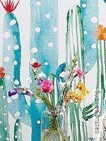 Tapete: cactus painting