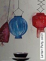 Tapete  - Lampe - NEUE Tapeten Lantern Party, 01