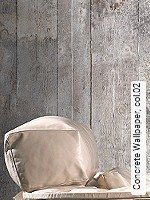 Tapete  - Tapeten mit  Holzdesign - NEUE Tapeten Concrete Wallpaper, 02