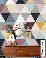 Tapeten  - FlurTapeten Mosaic, soft